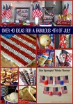 Over 40 Ideas for a Fabulous 4th of July
