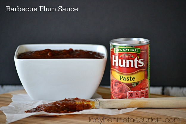 Summer Barbecue Plum Sauce Recipe - Lady Behind The Curtain
