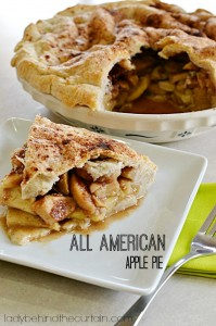 All American Apple Pie - Lady Behind The Curtain