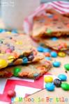 M&M Cookie Brittle