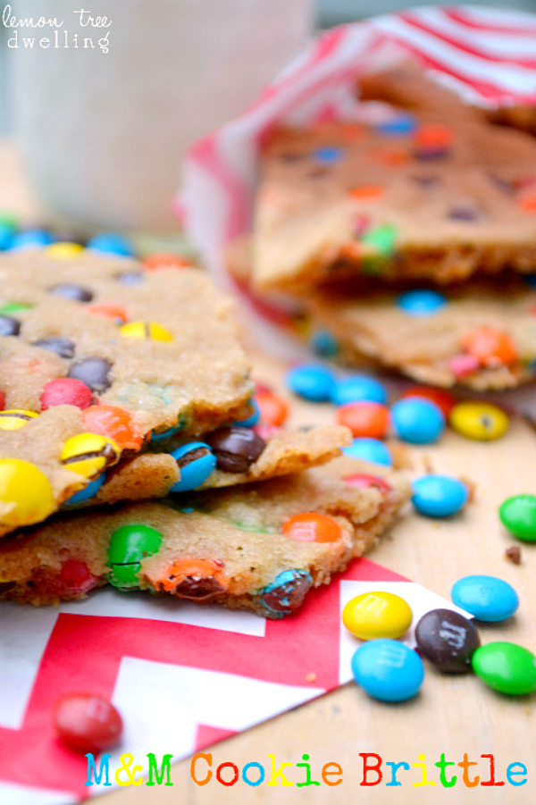 M&M Cookie Brittle 1c