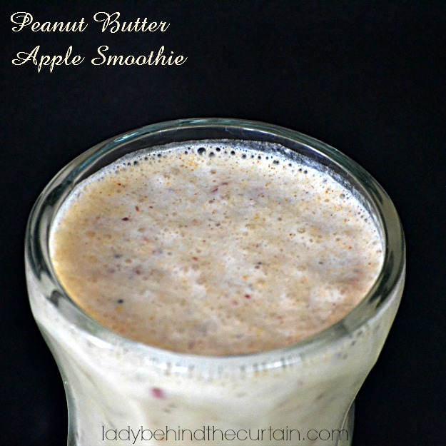 Peanut Butter Apple Smoothie