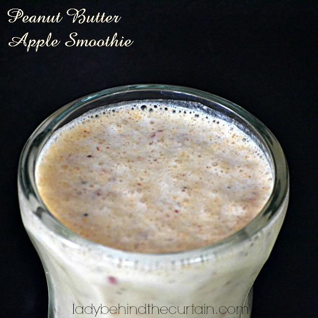 Peanut Butter Apple Smoothie