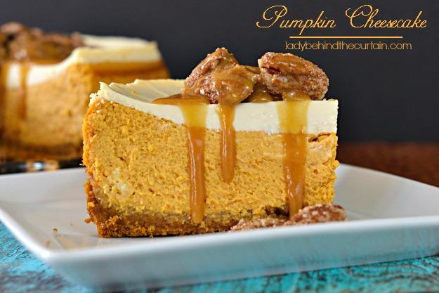 pumpkin cheesecake lady behind the curtain - Olive Garden Pumpkin Cheesecake