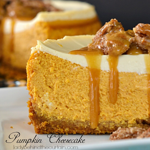 Pumpkin Cheesecake - Lady Behind The Curtain