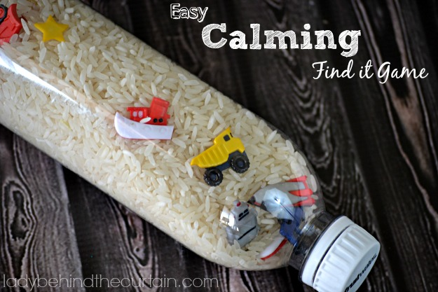 Calming Find It Game - Lady Behind The Curtain