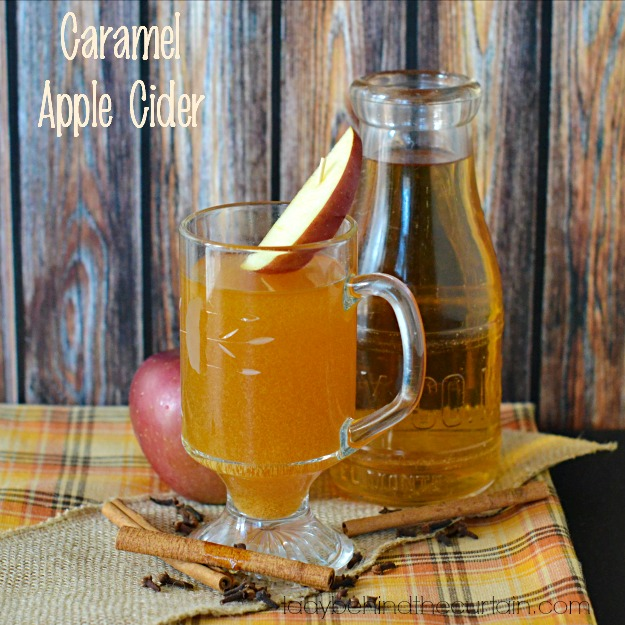 Caramel Apple Cider - Lady Behind The Curtain