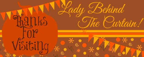 Fall Thanks For Visiting Lady Behind The Curtain Banner 2