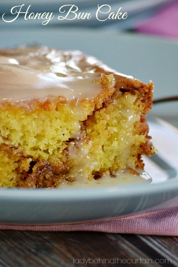 How To Make A Honey Bun Cake