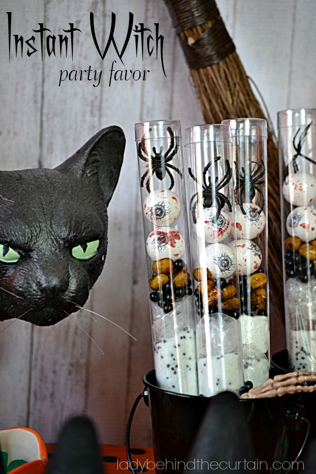 Instant Witch Party Favor - Lady Behind The Curtain