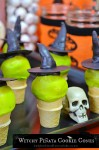 Witchy Piñata Cookie Cones