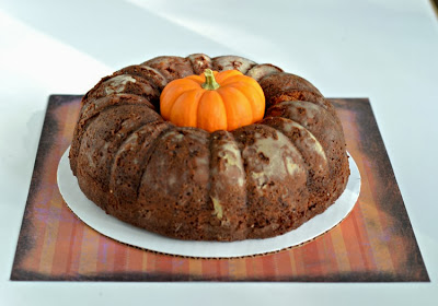 Fall fun with Caramel Apple Bundt Cake