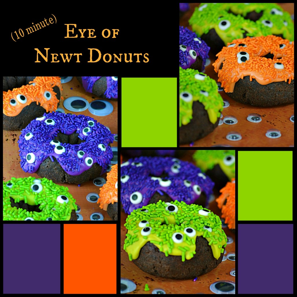 10 Minute Eye Of Newt Donuts - Lady Behind The Curtain