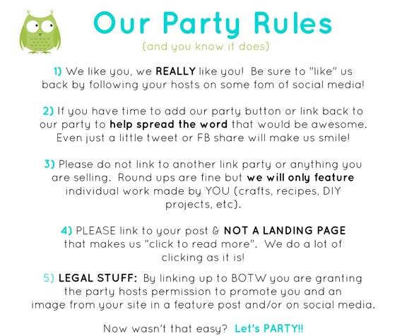 BOTW Party Rules