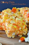 Candy Corn Popcorn Chewy Bars