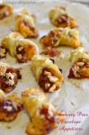 Cranberry Pear Envelope Appetizers - Lady Behind The Curtain