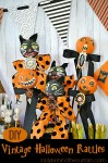 DIY Vintage Halloween Rattles