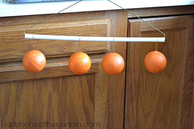 DIY Vintage Halloween Rattles - Lady Behind The Curtain