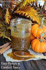 Easy Pumpkin Caramel Sauce