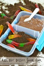 Kid's Dirt Dessert Snack Pack