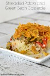 Shredded Potato and Green Bean Casserole