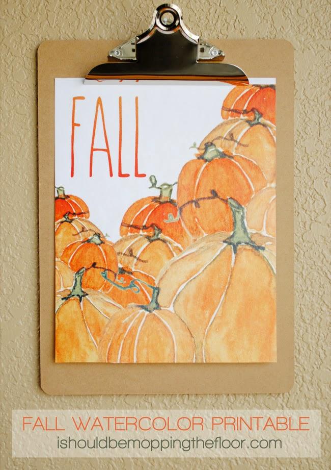 fall printable