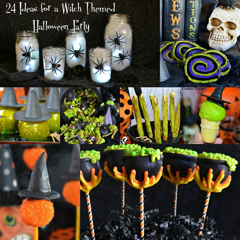 24 Ideas for a Wtich Themed Halloween Party