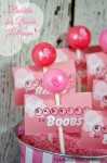 Bubbles for Boobs Lollipops