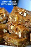Chewy Peanut Brittle Brownies