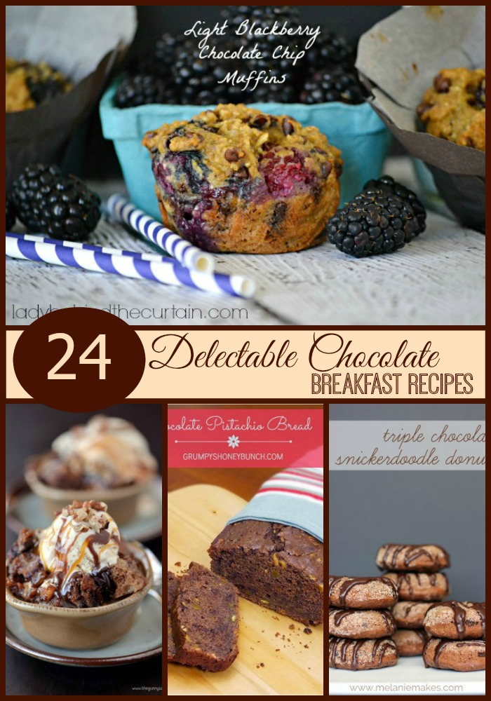 24 Delectable Chocolate Breakfast Recipes - Lady Behind The Curtain