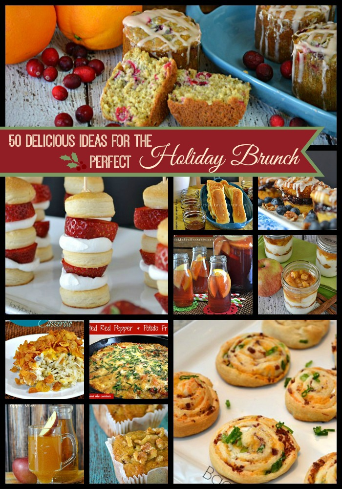 50 Delicious Ideas for the PERFECT Holiday Brunch - Lady Behind The Curtain
