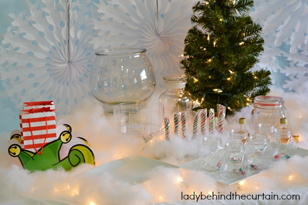 Buddy The Elf Christmas Party Table - Lady Behind The Curtain