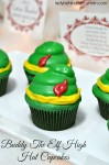 Buddy the Elf High Hat Cupcakes