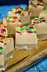 Caramel Pumpkin Fudge - Lady Behind The Curtain