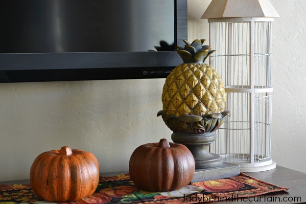 DIY Dollar Tree Country Style Fall Pumpkins - Lady Behind The Curtain