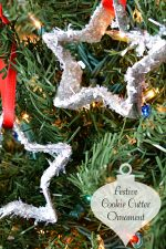 Festive Cookie Cutter Ornament