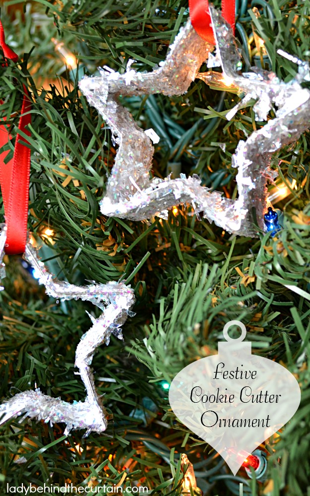 Festive Cookie Cutter Ornament - Lady Behind The Curtain