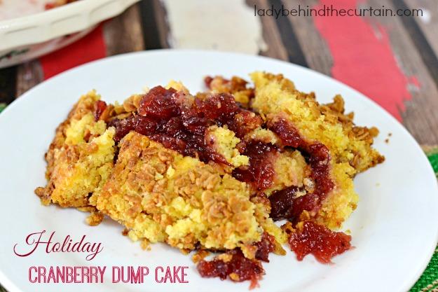 Cranberry Sauce Yellow Cake Mix