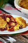 Holiday Cranberry Dump Cake