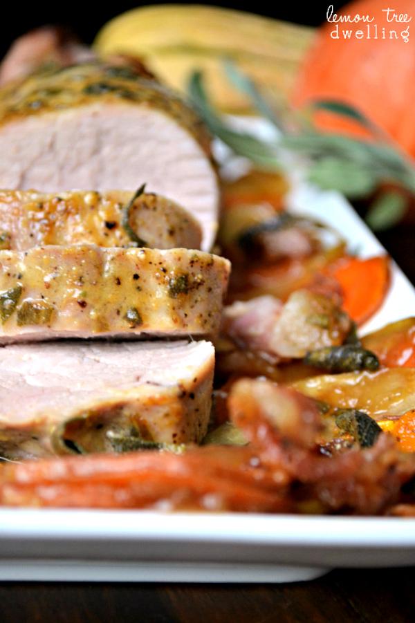 Pork Tenderloin With Maple Mustard Sauce Recipe — Dishmaps