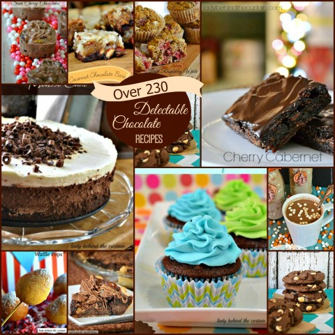 Over 230 Delectable Chocolate Recipes