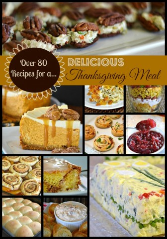 Over 80 Recipes for a Delicious Thanksgiving Meal