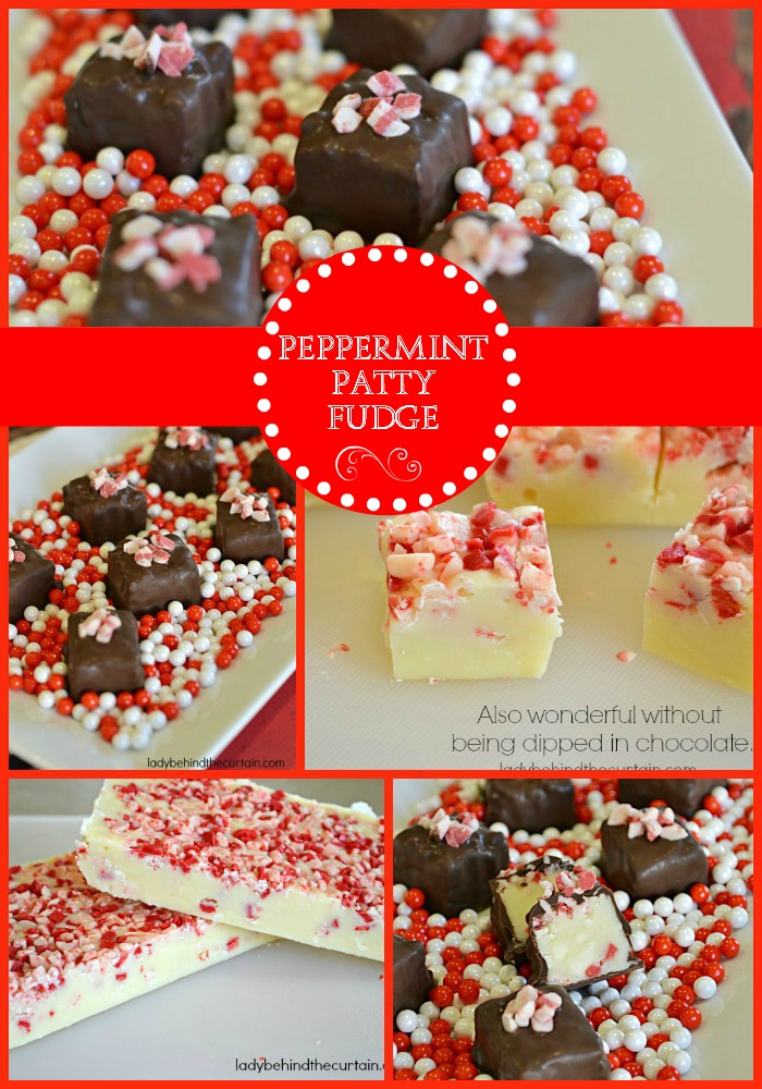 Peppermint Patty Fudge - Lady Behind The Curtain