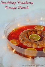 Sparkling Cranberry Orange Punch with 7UP TEN and SUNKIST TEN