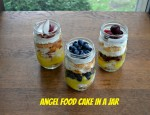 Angel Food Cakes in a Jar