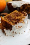 Pumpkin and Chocolate Swirl Bread