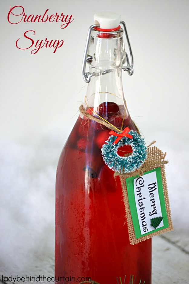 Cranberry Syrup - Lady Behind The Curtain