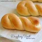 Dazzling Twist Dinner Rolls - Lady Behind The Curtain
