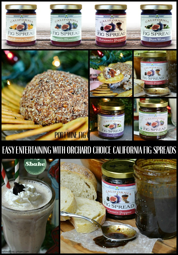 Easy Entertaining with Orchard Choice California Fig Spreads - Lady Behind The Curtain