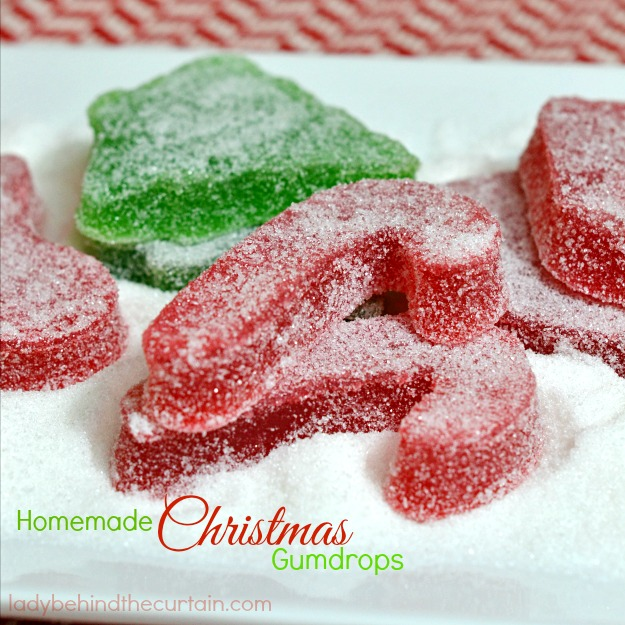 Homemade Christmas Gumdrops - Lady Behind The Curtain